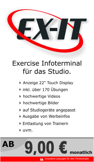 solutions4gym programm exit www